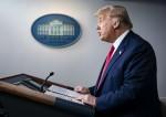 Conferenza stampa di Trump sul Coronavirus