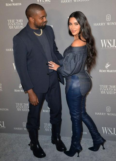 Kanye West, Kim Kardashian West all'arrivo ...