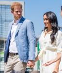 Il principe Harry e Meghan markle visitano Johannesburg, in Sud Africa