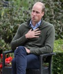 Il principe William fa una visita ufficiale al Cave Hill Country Park