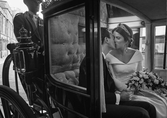 Dominic West e la moglie Catherine Fitzgerald