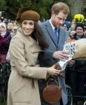 La famiglia reale britannica arriva a Sandringham per celebrare il giorno di Natale