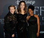 Prima italiana di Maleficent della Disney tenutasi a Roma, Italia - Red Carpet