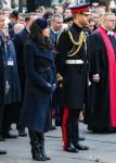 Meghan Duchess of Sussex e Prince Harry Duca di Sussex nella foto al Field of Remembrance a Londra