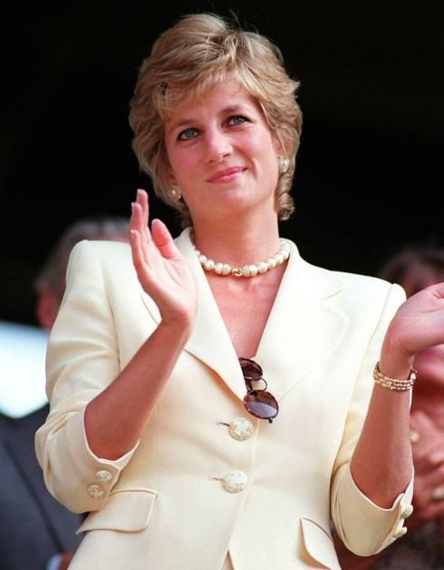SAR LA PRINCIPESSA DI GALLES (SAR la Principessa Diana) Visto ai campionati di tennis di Wimbledon nel 1995.Foto dell'agenzia fotografica B21 009812 / E-36 09.07.1995