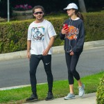 Shia LaBeouf e la nuova fidanzata Margaret Qualley vanno a fare jogging insieme
