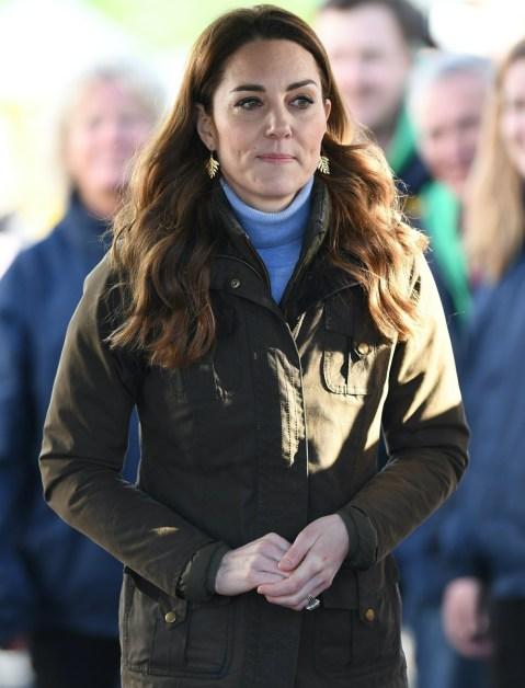 Catherine, duchessa di Cambridge, visita The Ark Open Farm per incontrare le famiglie locali