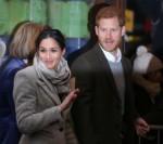 Il principe Harry e Meghan Markle visitano Reprezent 107.3FM a Brixton