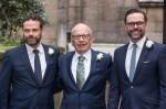 Lachlan Murdoch, Rupert Murdoch e Jame ..........