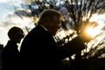 Trump partenza il giorno dell'inaugurazione