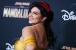 Gina Carano arriva alla prima di Los Angeles di Disney + 'The Mandalorian' tenutasi al Teatro El Capitan il 13 novembre 2019 a Hollywood, Los Angeles, California, Stati Uniti.