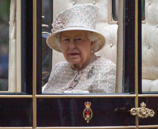 Il compleanno ufficiale del sovrano britannico, The Trooping of the Color, Londra, Regno Unito.