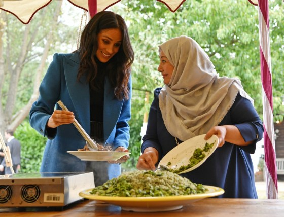 Lancio del libro di cucina di Meghan