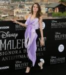 Angelina Jolie posa durante il photo call per la premiere europea del film Maleficent: Mistress of Evil, a Roma, Italia 07-10-2019