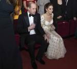 Il Duca e la Duchessa di Cambridge partecipano alla cerimonia degli EE British Academy Film Awards alla Royal Albert Hall.