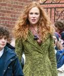 Nicole Kidman sembra incredibile con i capelli rossi mentre gira 'The Undoing'