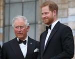 Il principe Carlo e il principe Harry alla prima mondiale di Our Planet di Netflix al Natural History Museum, Kensington, Londra il 4 aprile 2019