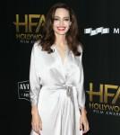 Angelina Jolie ai ventunesimi premi annuali della pellicola di Hollywood a Beverly Hilton Hotel