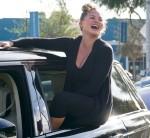 John Legend e Chrissy Teigen celebrano le elezioni a West Hollywood, CA.