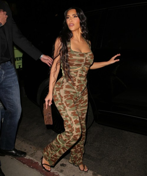 Kim Kardashian esce dall'818 Tequila Launch Party di Kendall Jenner!