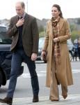 Il Duca e la Duchessa di Cambridge in visita in Scozia - Quinto giorno