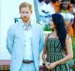 Il principe Harry e la duchessa di Sussex Meghan visitano l'Africa