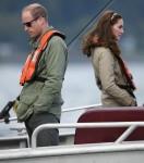 Royal Tour - Gita di pesca in barca allo Skidegate Youth Centre, Haida Gwaii, BC, Canada, 30/09/16