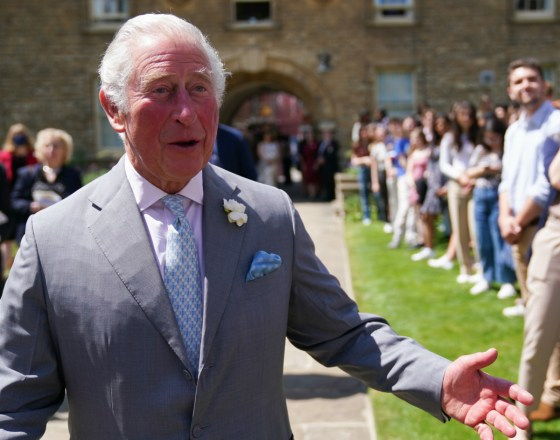 Il Principe di Galles in visita a Oxford