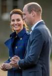 Il Duca e la Duchessa di Cambridge visitano un cinema drive-in al Palazzo di Holyroodhouse a Edimburgo