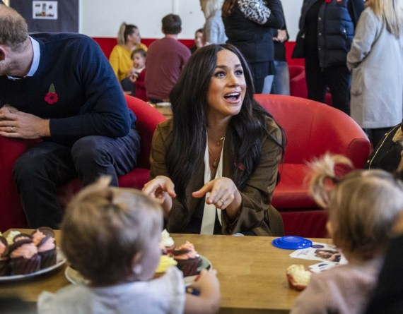 The Duke and Duchess of Sussex visit Army families