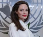 Nazioni Unite, New York, USA, 14 settembre 2017 - Angelina Jolie...