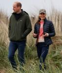 Il principe William e Catherine, duchessa di Cambridge, provano lo yachting terrestre a St Andrews
