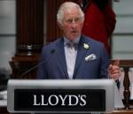 Charles visita i Lloyd's di Londra