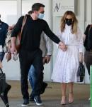 Ben Affleck e Jennifer Lopez arrivano a Venezia