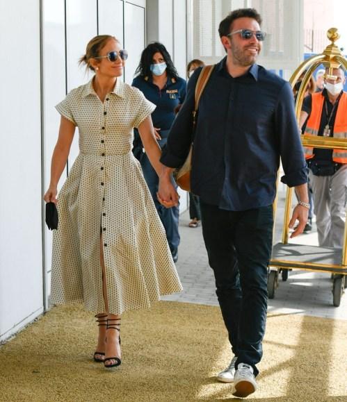 Jennifer Lopez e Ben Affleck avvistati a Venezia