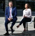 Celebrità negli studi ITV