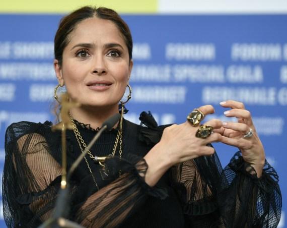 "26 febbraio 2020, Berlino: 70th Berlinale, ""The Roads Not Taken"" - Conferenza stampa: Attrice Salma Ha..."