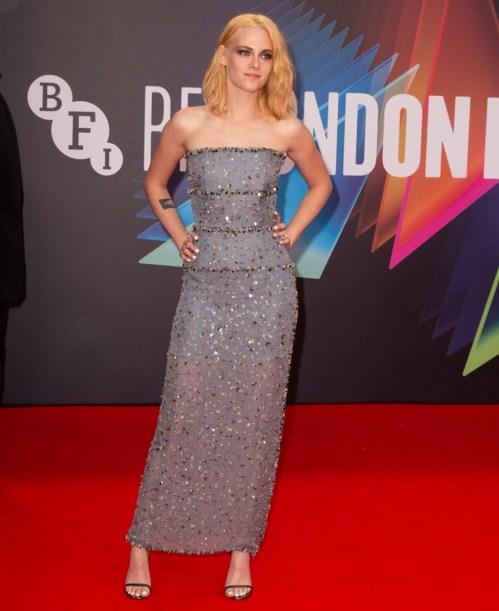 Il BFI sessantacinquesimo London Film Festival Headline Gala di 'Spencer' tenuto presso la Royal Festival Hall
