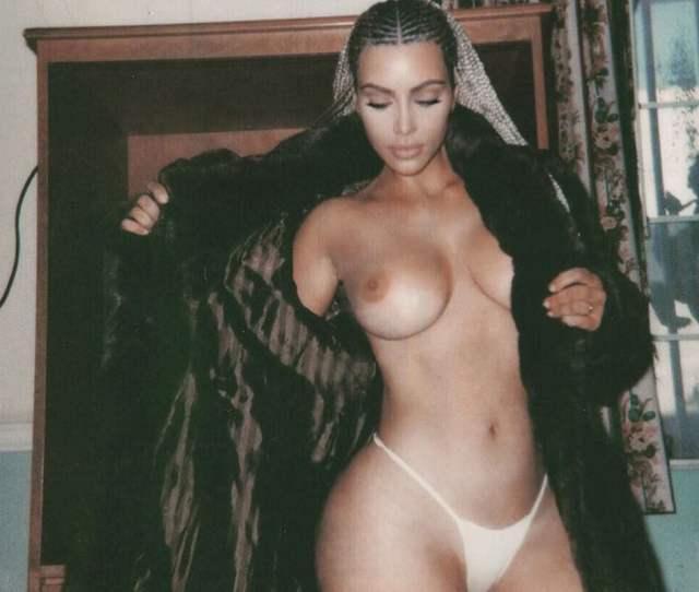 Kim Kardashian Nude Behind The Scenes Photos