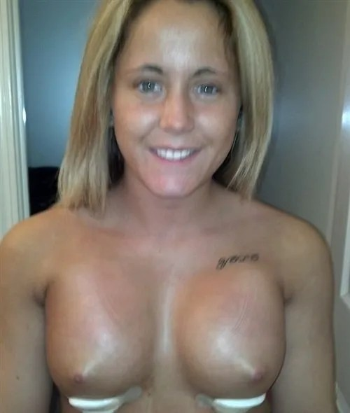 The Disturbing Photo Above Is Of Mtv Teen Mom Star Jenelle Evans Topless Just Days After Having Plastic Surgery To Enlarge Her Breasts