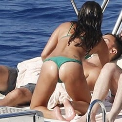 Israeli Navy Launches Heinous Lea Michele Thong Bikini Assault