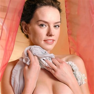 Daisy Ridley Topless In Crotchless Panties