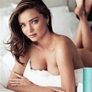 Miranda Kerr Poses Nude For Harpers Bazaar