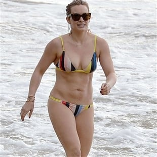 Hilary duff in the nude