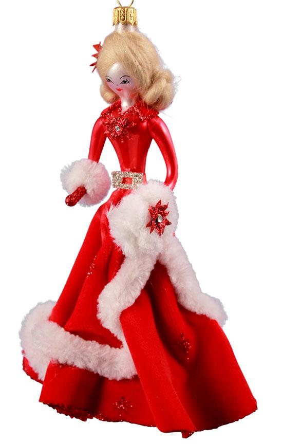 Soffieria De Carlini White Christmas Lady Celebrate365