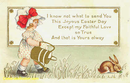 Edwardian Easter Day Postcards