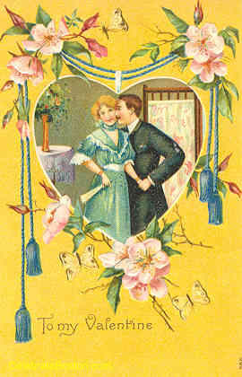 Edwardian Valentines Day Postcards