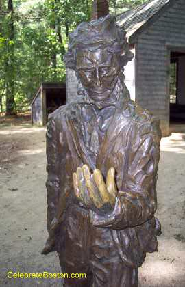 Henry David Thoreau Statue