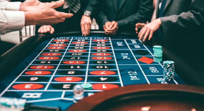 people playing in a casino
