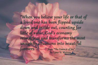 Lynn Wilson talks about her book The essence of Joy